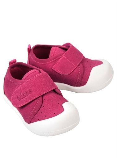 Vicco  950.E19K.224 Anka Kız/Erkek Bebek İlk Adım Ayakkabı Fuşya